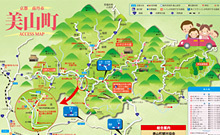 MIYAMA ACCESS MAP[JAPANESE]